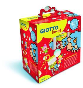 Giocattolo Bolle di sapone Giotto be-bè Party Set. Confezione 6 pezzi da 60 ml Giotto