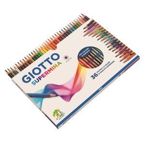 Pastelli Giotto Supermina. Scatola 36 matite colorate assortite - 2