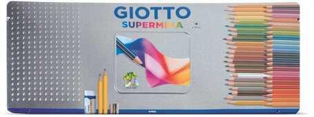 Cartoleria Giotto Supermina Scatola in metallo 50 pezzi Giotto