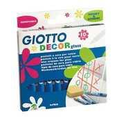 Cartoleria Giotto Decor Glass astuccio appendibile 10 pezzi Giotto