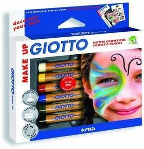 Matite cosmetiche Giotto. Confezione 6 colori classici - 2