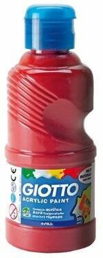 Tempera acrilica Giotto. Flacone 250 ml. Rosso