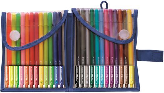 Pennarelli Tratto Pen. Confezione 24 colori assortiti