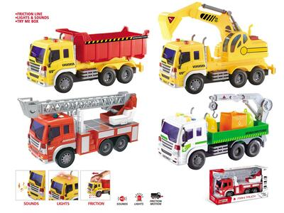 Friction Trucks 30 Cms