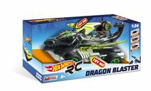 Hot Wheels. Dragon Blaster Con Radiocomando Luci E Movimenti