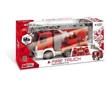 Mercedes Camion Pompieri 1:20 Con Radiocomando E Batterie Ricaricabili