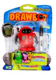 Re.El Toys 0315. Drawbot. Robottino Con Lettore Ottico Che Segue Il Tratto Del Pennarello