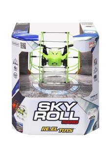 Sky Roll Nano. Drone Quadricottero Radiocomandato Diametro Cm 9 Assortimento