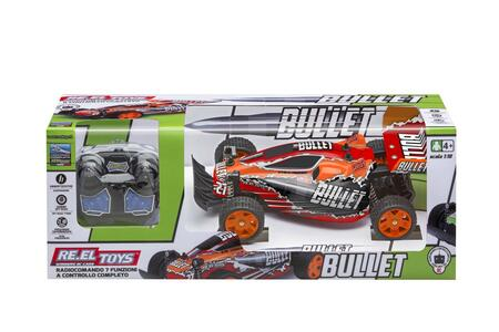 Speed Generation Bullet 1:18 Buggy Con Radiocomando E Luci 24 Cm
