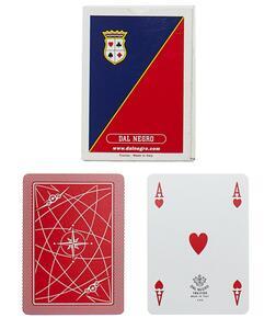 Carte da gioco Poker Aeroclub A1 retro rosso Dal Negro