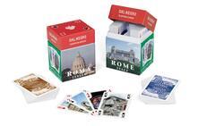 Carte Da Gioco Mini Ramino Souvenir Roma