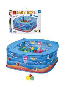 Giocattolo Baby Box Pesciolini Dal Negro