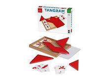 Tangram Rosso Con Carte