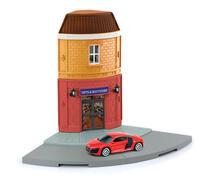 Rmz Diorama Series Scala 1:64 Street Corner Audi R8