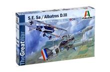 Italeri S.E.5a / Albatros D.III 1:72 Kit di montaggio