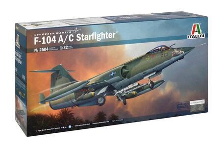 Aereo F - 104c Starfigher (2504S) - 3