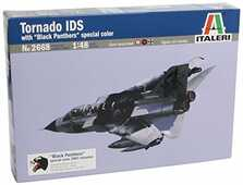 Giocattolo Aereo Tornado Ids Black Panthers (2668S) Italeri