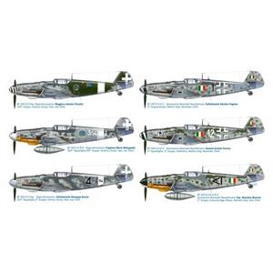 Giocattolo Aereo Bf 109 G-6 Italian Aces (2719S) Italeri 1