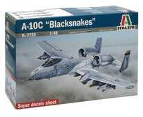 Giocattolo Aereo A-10c Blacksnakes (2725S) Italeri