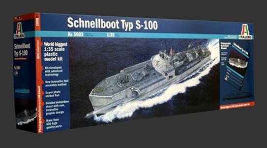 Giocattolo Nave Schnellboot S 100 (5603S) Italeri 0