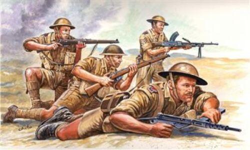 Giocattolo Soldatini ottava armata britannica Italeri