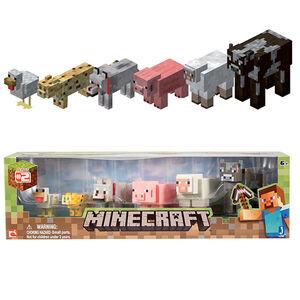 Giocattolo Figure Minecraft Animal Pack Giochi Preziosi