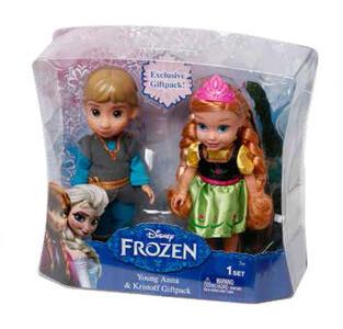 Frozen. Mini Doll Anna + Kristoff - 3