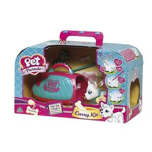 Pet Parade. Carry Kit. Trasportino Con Cucciolo E Accessori - 4