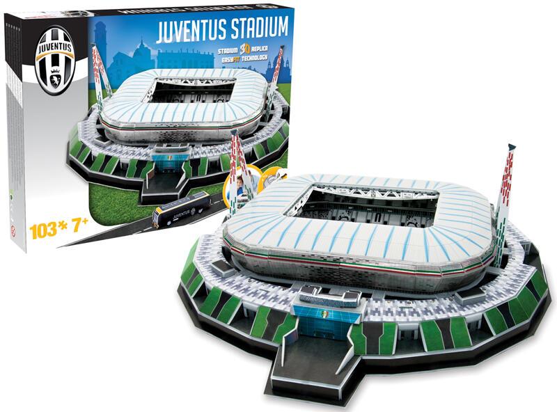 Favoloso Puzzle 3D Stadio Juventus - Nanostad - Puzzle 3D - Giocattoli | IBS VP02