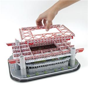 Giocattolo Puzzle 3D Stadio San Siro Giochi Preziosi 8