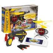 Giocattolo Hovertech. Target Fx. Drone Volante con 1 Pistola e 3 Dardi Giochi Preziosi