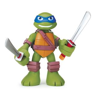 Giocattolo Turtles Mini Heroes, Personaggio Deluxe Leonardo con suoni Giochi Preziosi 0