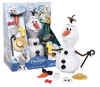 Giocattolo Frozen. Olaf Componibile Giochi Preziosi