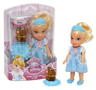 Cenerentola. Mini Doll con Topolino Gus