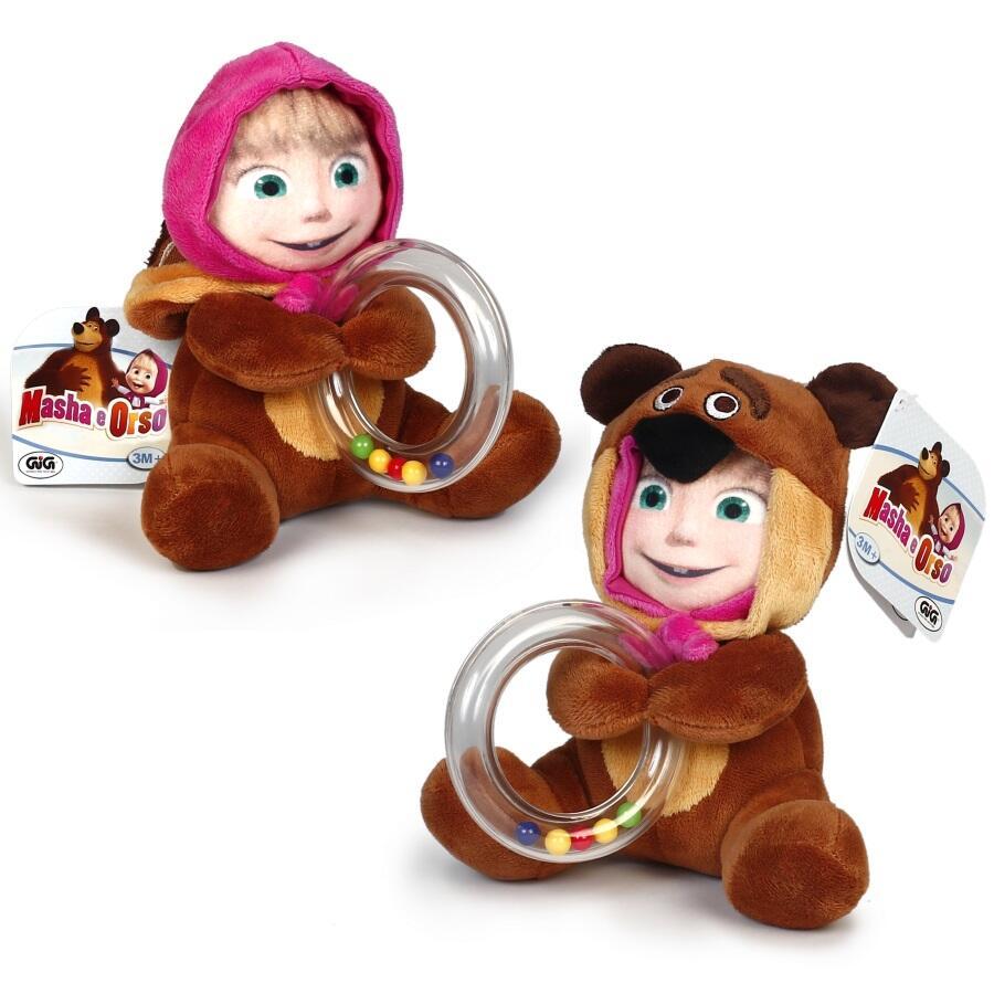 Peluche 2 in 1 masha e orso gig per la culla e il for Masha giocattolo