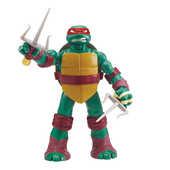 Giocattolo Turtles, Personaggio Gigante Head Dropping Raffaello Giochi Preziosi