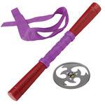 Turtles Armi Combact Gear con suoni, Completo di Stella Ninja, Bastone e Mascherina di Donatello