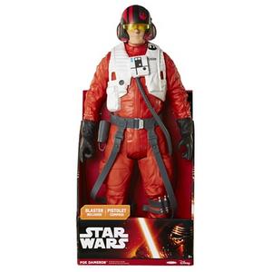Giocattolo Star Wars Il Risveglio della Forza, Personaggio Gigante Poe Dameron Giochi Preziosi 2