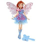 Winx Butterflix Fairy, Bambola Bloom Con Ali Olografiche
