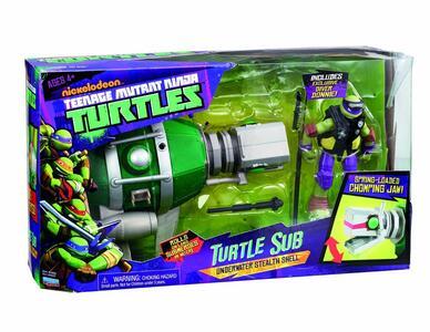 Turtles Tmnt Veicolo Deluxe con Personaggio