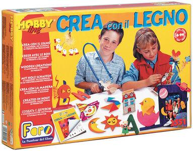 Giocattolo Crea con il Legno La Nuova Faro