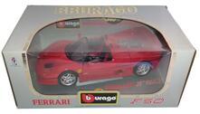 Bburago Gold 1/18 Ferrari F50 Aperta 3352 Diecast Catalogo