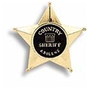 Sheriff Star Blister - 2