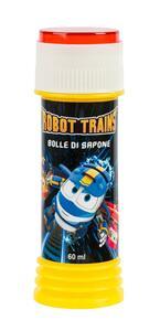 Villa G. 6114. Display 36 Pz. Bolle Di Sapone Robot Trains
