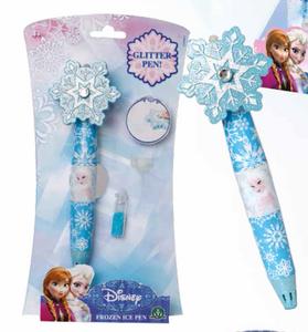 Cartoleria Penna Ice Glitter Frozen Auguri Preziosi