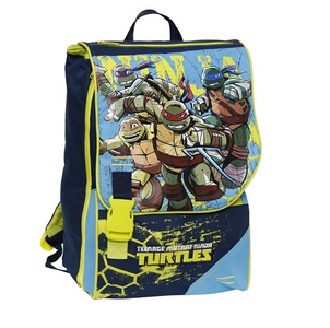 Cartoleria Zaino estensibile Multi Turtles con gadget Auguri Preziosi