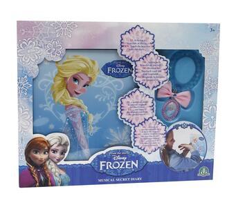Frozen. Diario con Musica