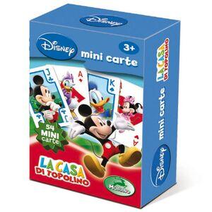Giocattolo Mini Carte da gioco La Casa di Topolino Modiano Modiano 0
