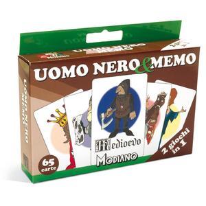 Carte da gioco Uomo Nero & Memo Medioevo Modiano