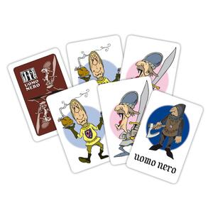 Carte da gioco Uomo Nero & Memo Medioevo Modiano - 3